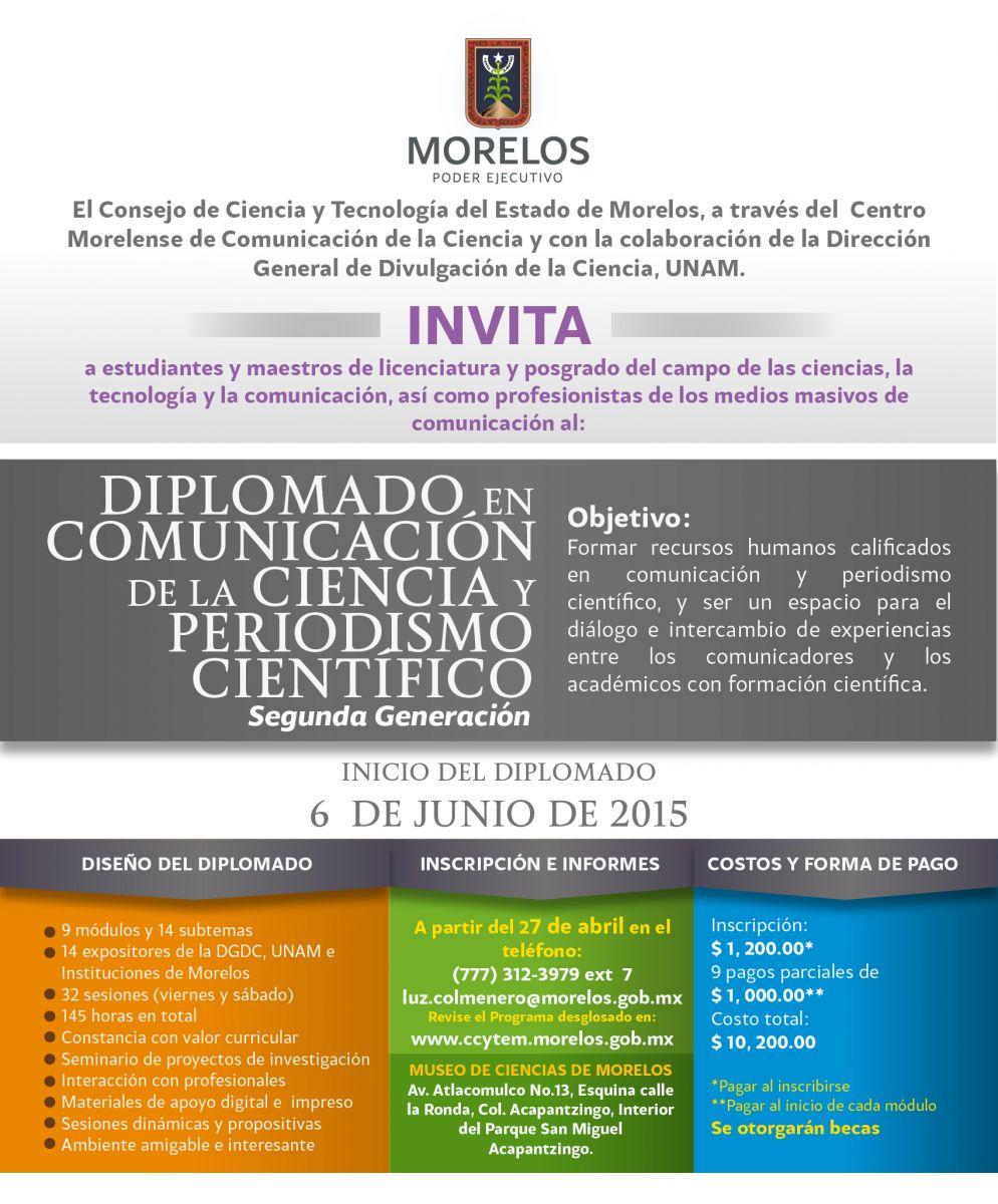 Diplomado En Comunicación De La Ciencia Consejo De Ciencia
