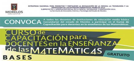 Capacitación en Matemáticas