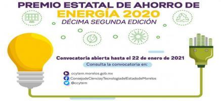 Premio Estatal de Ahorro de Energía 2020