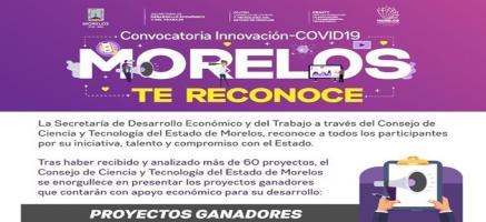 Conoce a Ganadores de Convocatoria Innovación COVID-19